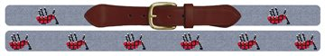 A Bagpipes Song Needlepoint Belt
