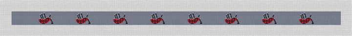 A Bagpipes Song Needlepoint Belt Canvas