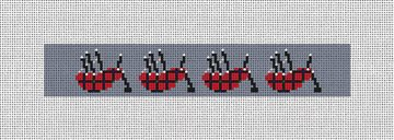 A Bagpipes Song Needlepoint Key Fob Kit