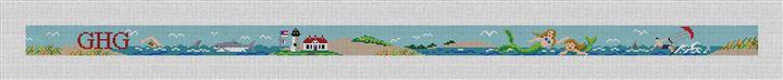 Atlantic Seashore Needlepoint Belt Kit