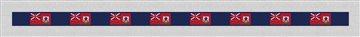 Bermuda Flag Needlepoint Belt Kit