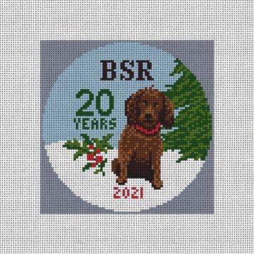 Boykin Spaniel Rescue Needlepoint Ornament Kit
