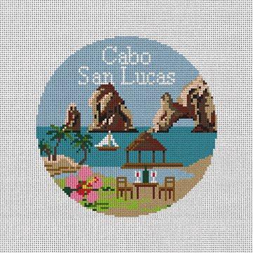 Cabo San Lucas Needlepoint Ornament Kit