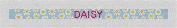 Daisy Needlepoint Dog Collar Kit