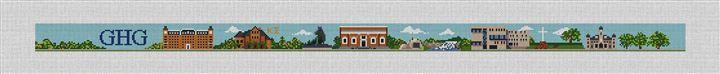Fayetteville Arkansas Needlepoint Belt Kit