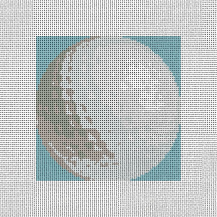 Golf Ball Needlepoint Ornament Canvas