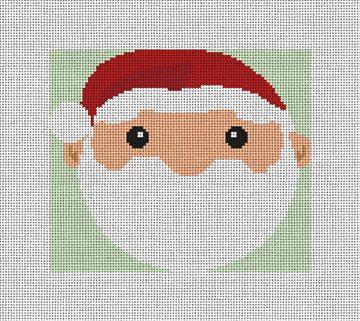 Kris Kringle Needlepoint Ornament Kit