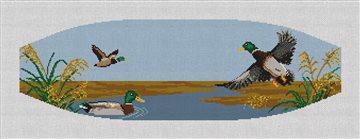 Mallard Ducks Cummerbund Needlepoint Kit