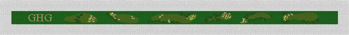 Pasatiempo Golf Club Needlepoint Belt Kit
