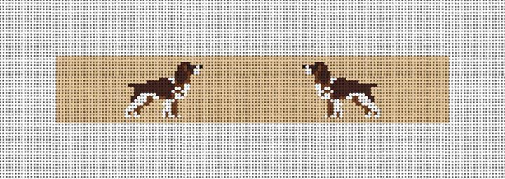 Springer Spaniel Needlepoint Key Fob Kit