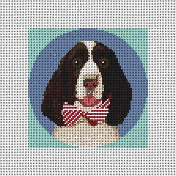 Springer Spaniel Needlepoint Ornament Kit