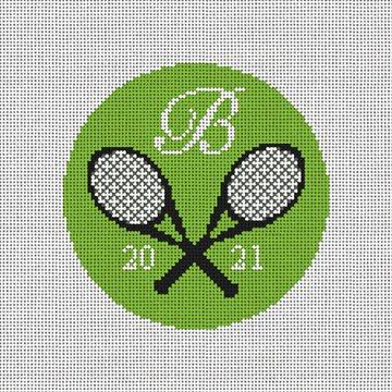 Tennis Anyone Needlepoint Ornament Kit