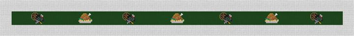 Thanksgiving Turkey Needlepoint Belt Kit
