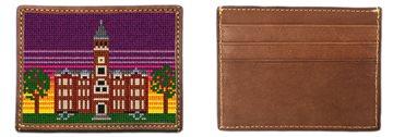 Tillman Hall Needlepoint Card Wallet