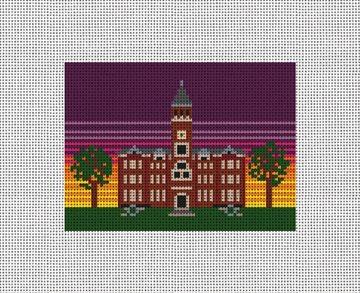 Tillman Hall Needlepoint Card Wallet Kit