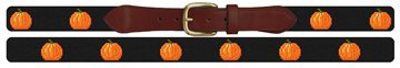 Tiny Pumpkins Halloween Needlepoint Belt