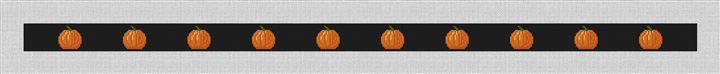 Tiny Pumpkins Halloween Needlepoint Belt Kit