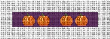 Tiny Pumpkins Halloween Needlepoint Key Fob Kit