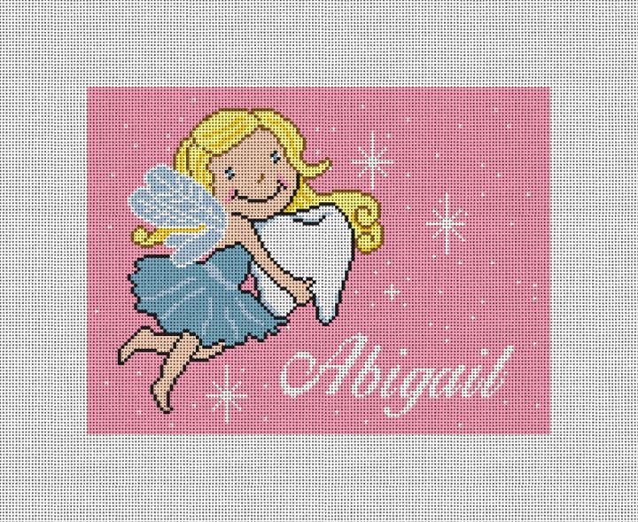 Tooth Fairy Princess Needlepoint Pillow Kit