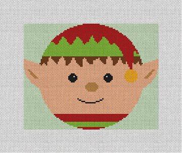 Twinkle Elf Needlepoint Ornament Kit