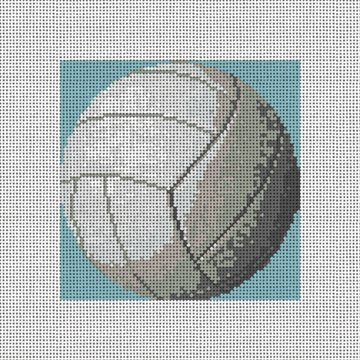 Volleyball Needlepoint Ornament Canvas